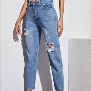 Highwaisted Jeans Midwash